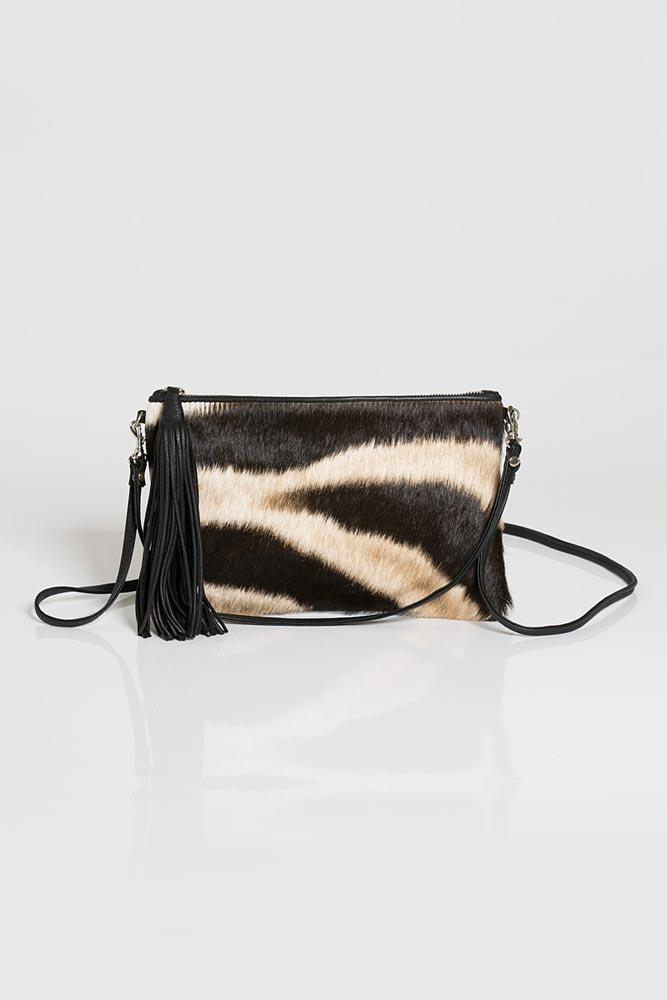 Zebra Natalie Bag